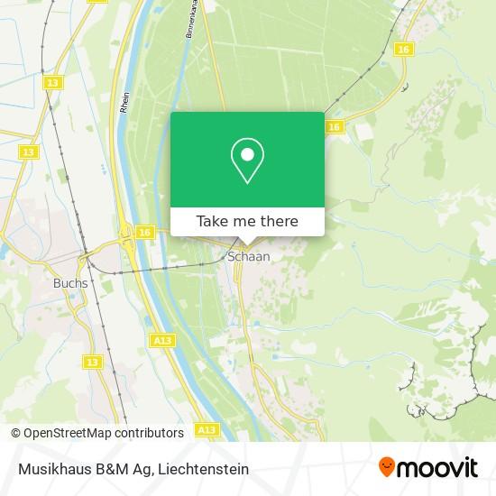 Musikhaus B&M Ag map