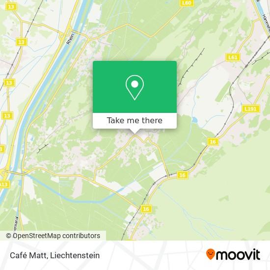 Café Matt map