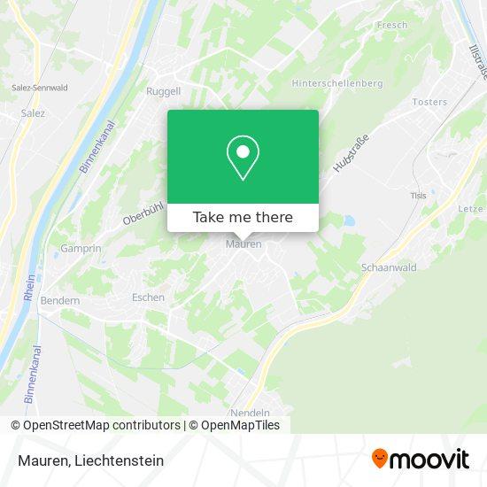 Mauren map