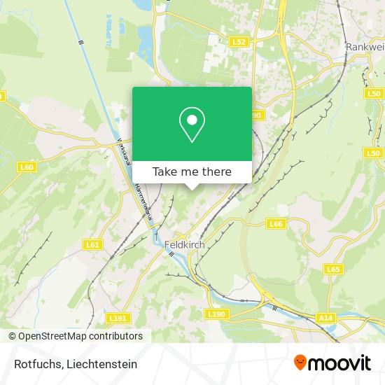 Rotfuchs map