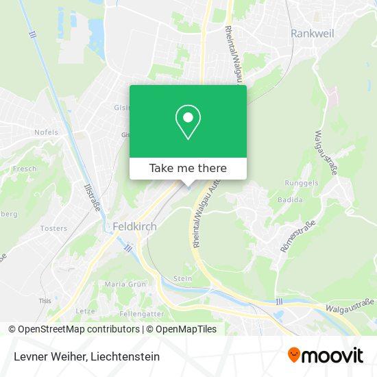 Levner Weiher map
