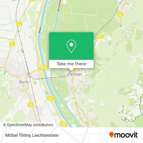 Möbel Thöny map