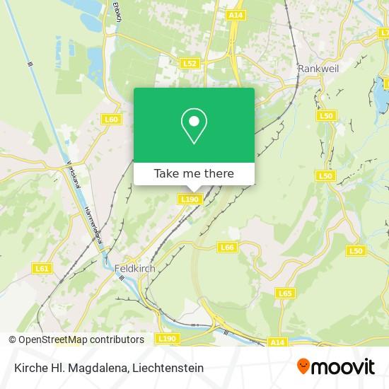 Kirche Hl. Magdalena map