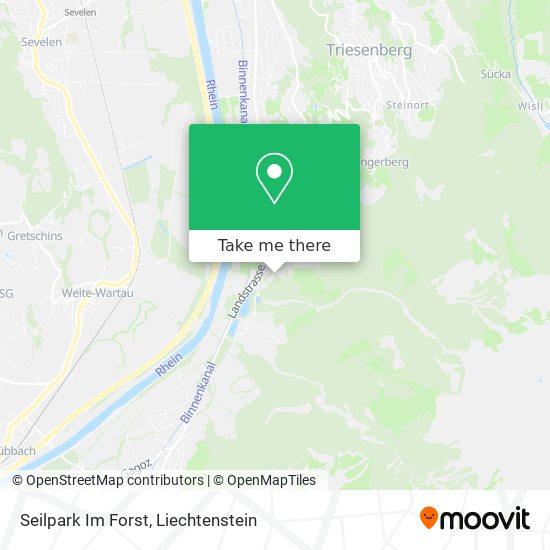 Seilpark Forst map