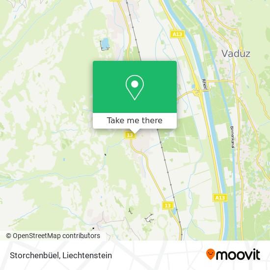 Storchenbüel map