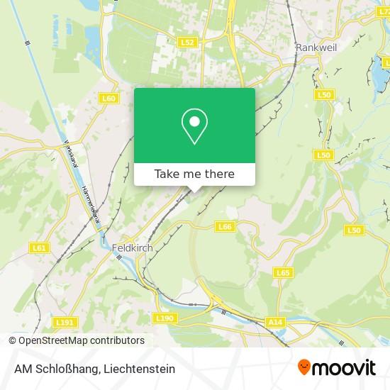 AM Schloßhang map