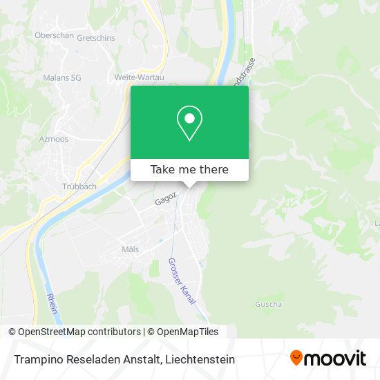 Trampino Reseladen Anstalt map