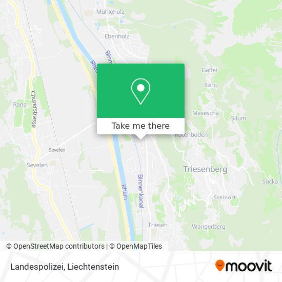 Landespolizei map