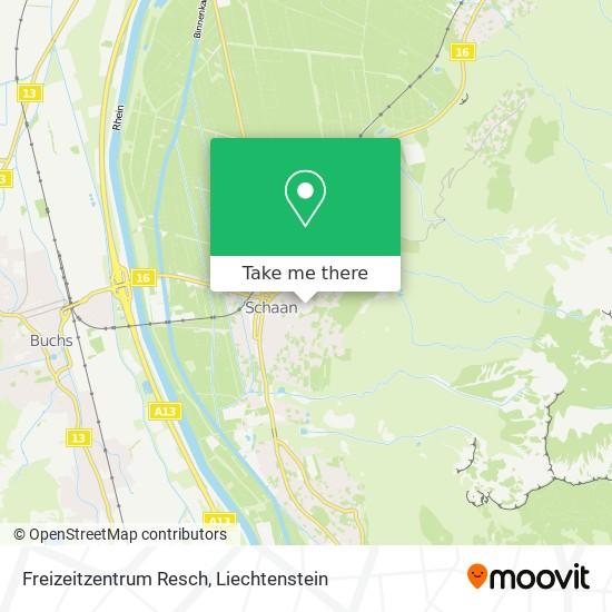 Freizeitzentrum Resch map