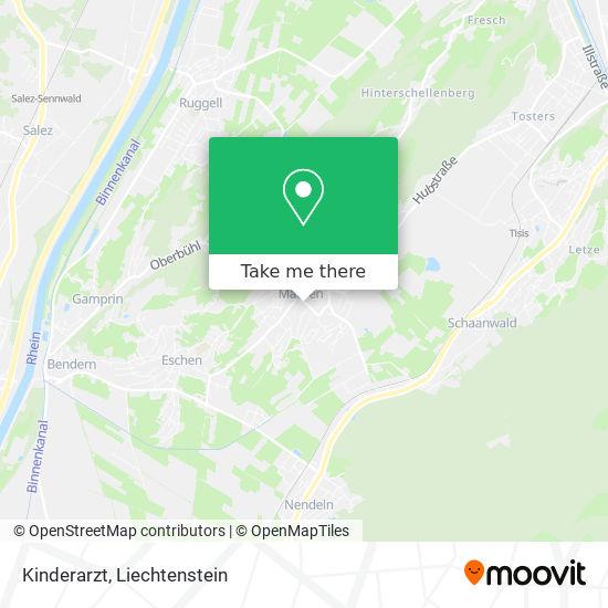 Kinderarzt map