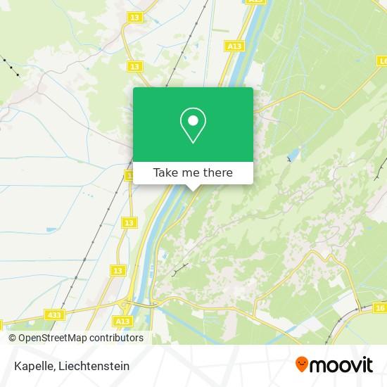 Kapelle map