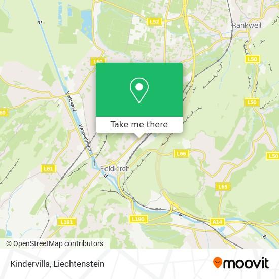 Kindervilla map