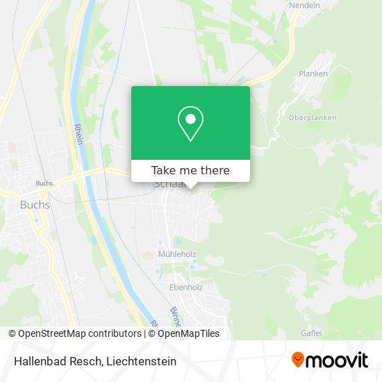 Hallenbad Resch map