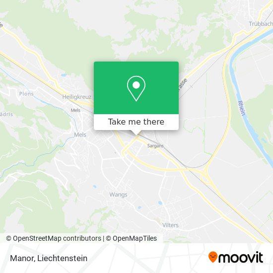 Manor map