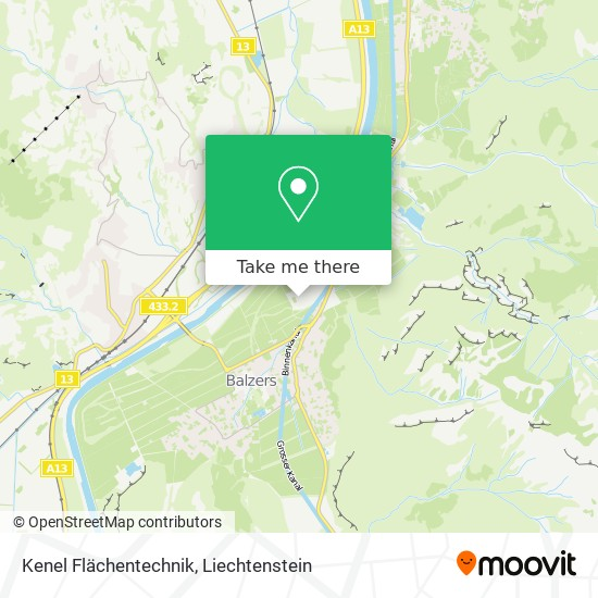 Kenel Flächentechnik map