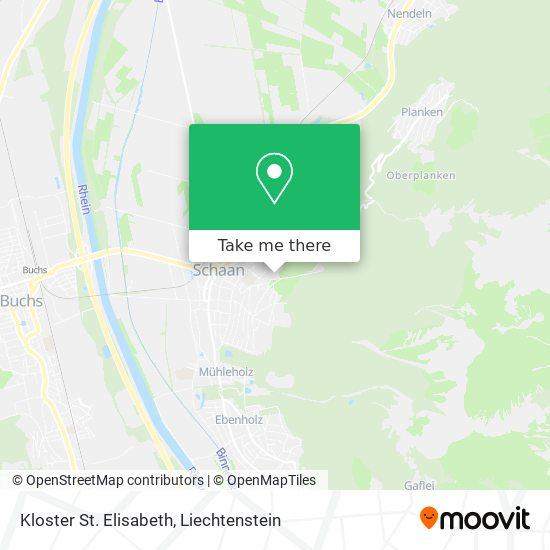 Kloster St. Elisabeth map