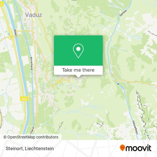 Steinort map