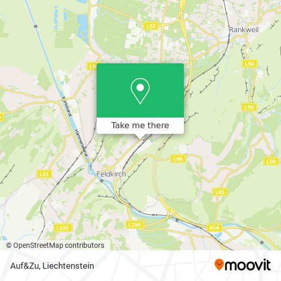 Auf&Zu map