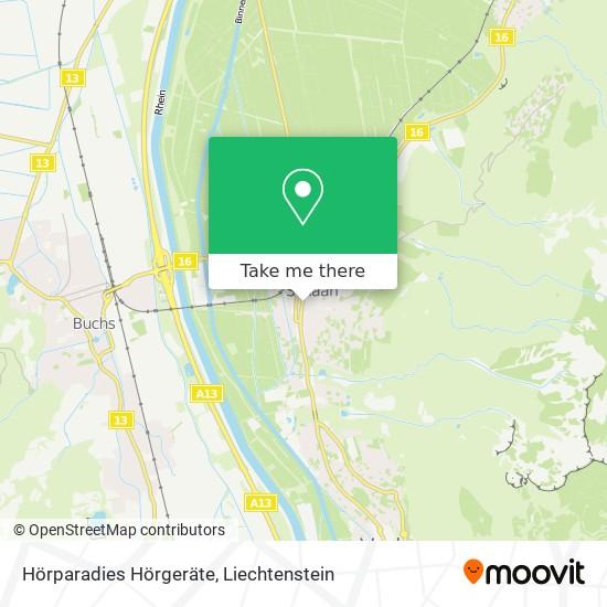 Hörparadies Hörgeräte map