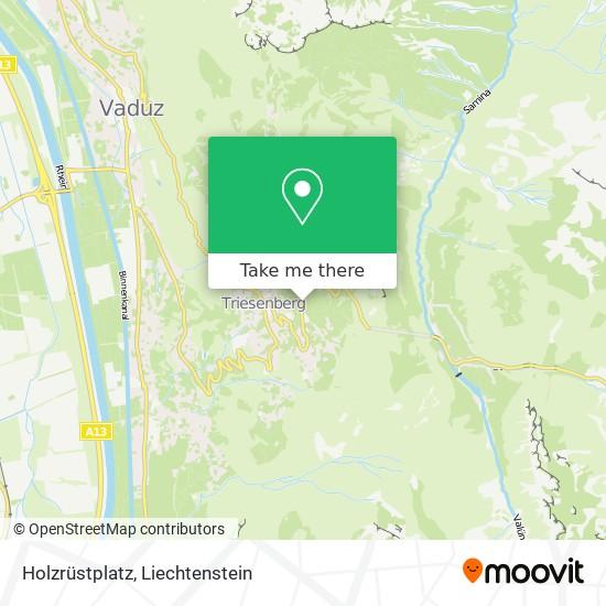 Holzrüstplatz map