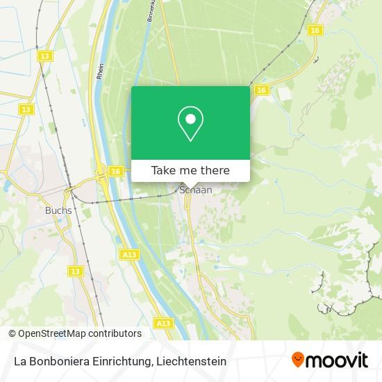 La Bonboniera Einrichtung map