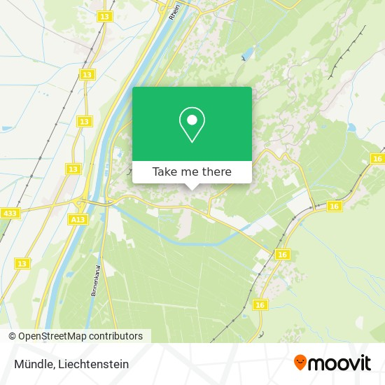 Mündle map