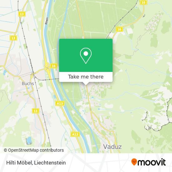 Hilti Möbel map