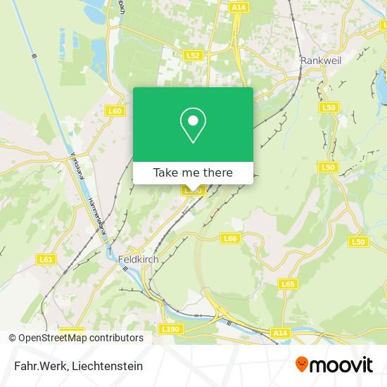 Fahr.Werk map