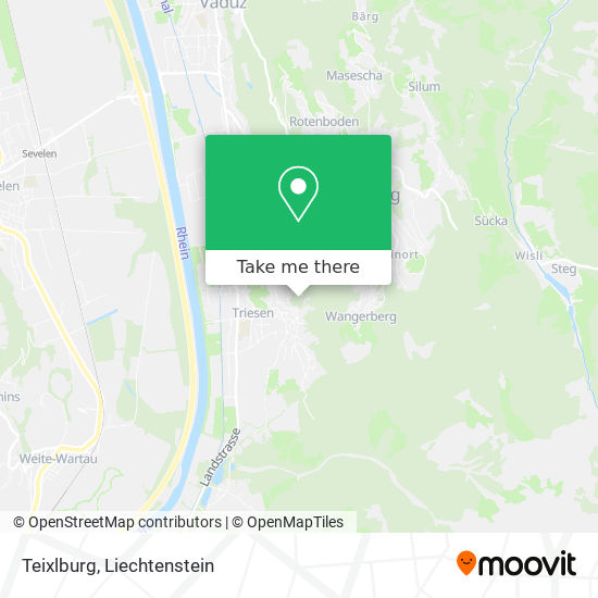 Teixlburg map