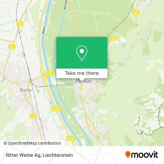 Ritter Weine Ag map