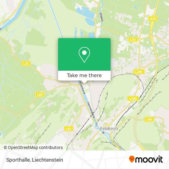 Sporthalle map