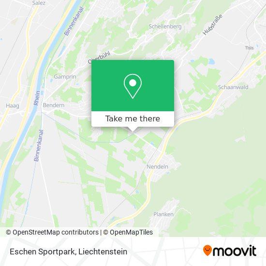 Eschen Sportpark map