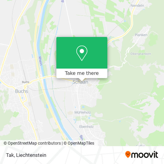 Tak map