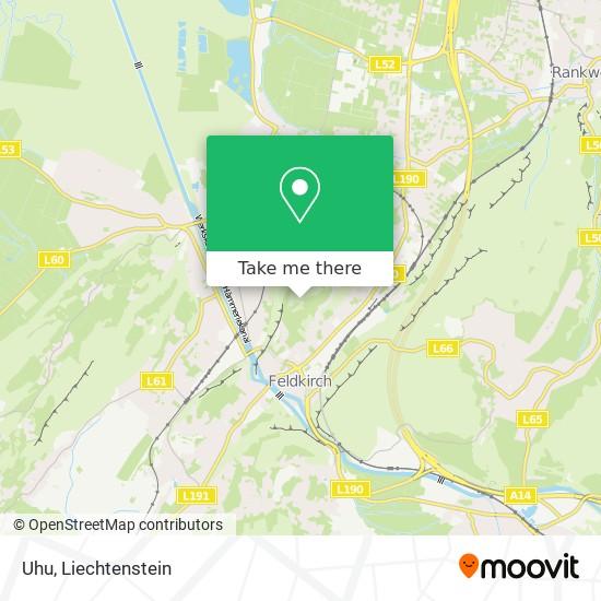 Uhu map