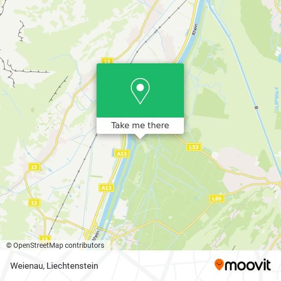 Weienau map