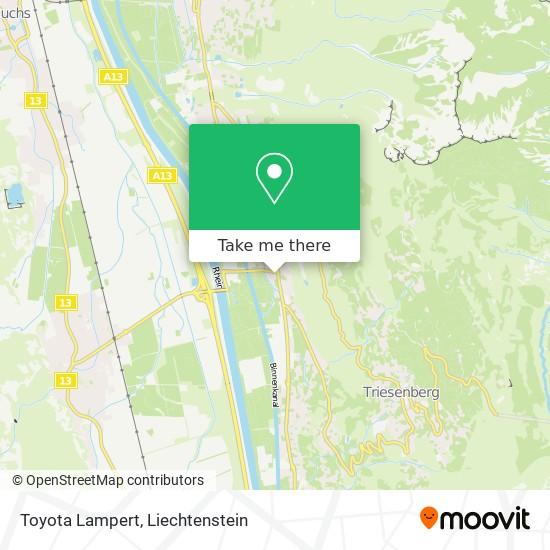 Toyota Lampert map