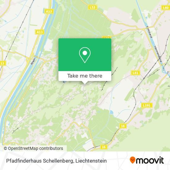 Pfadfinderhaus Schellenberg map