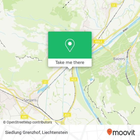 Siedlung Grenzhof map