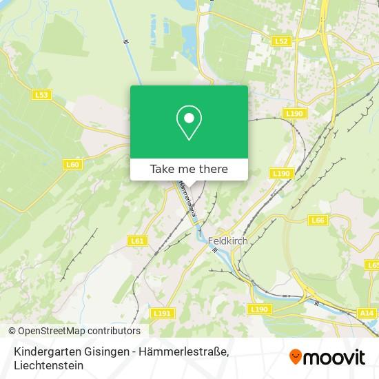 Kindergarten Gisingen - Hämmerlestraße map