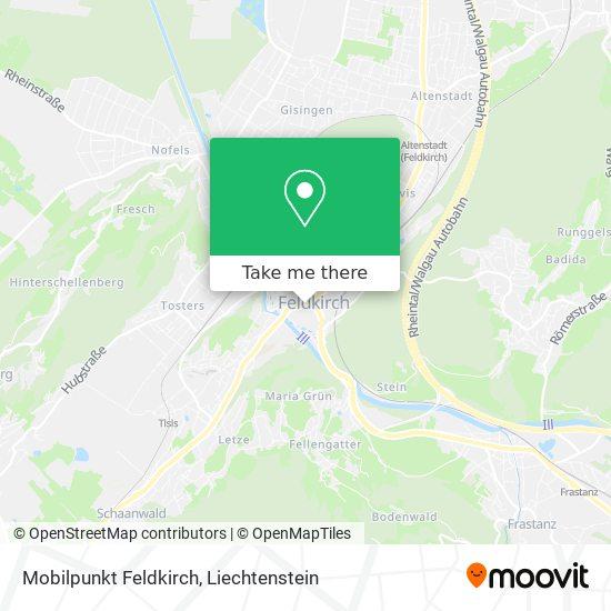 Mobilpunkt Feldkirch map