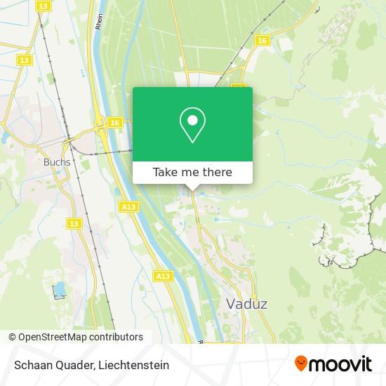 Schaan Quader map