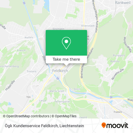 Vgkk Servicestelle map