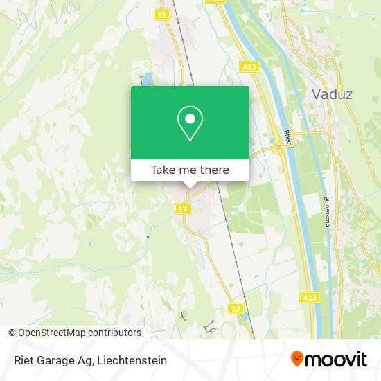 Riet Garage Ag map