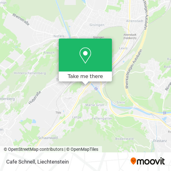 Cafe Schnell map