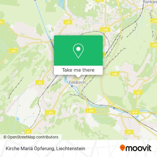 Kirche Mariä Öpferung map