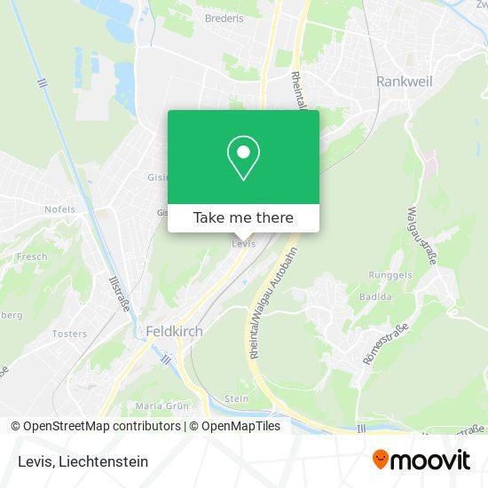 Levis map