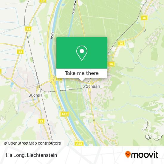 Ha Long map