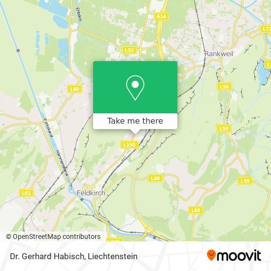 Dr. Gerhard Habisch map