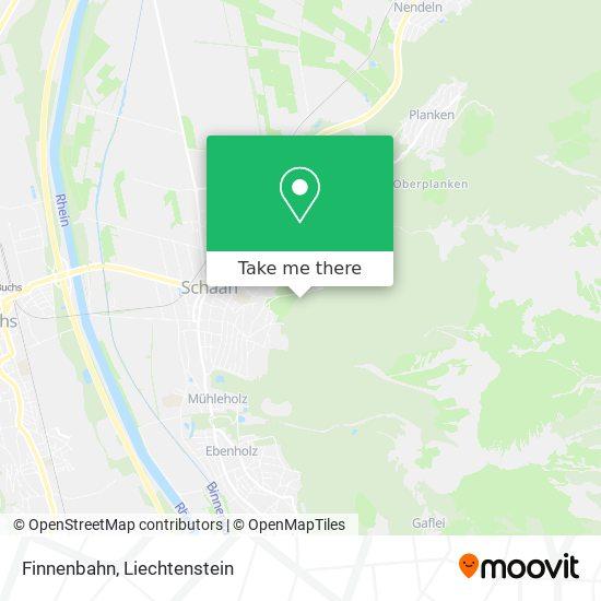 Finnenbahn map
