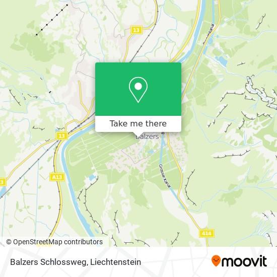 Schlossweg map